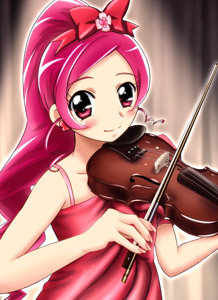 【ギター】楽器を演奏する女の子【トランペット】->画像>737枚